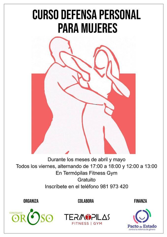 seminario de defensa personal cartel