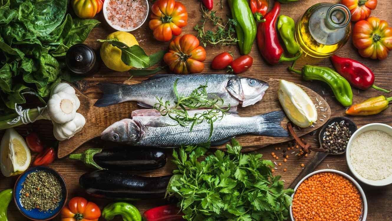 Verduras y pescados Termópilas Fitness Gym