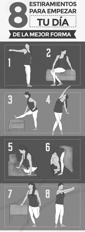 Estiramientos termopilas fitness gym