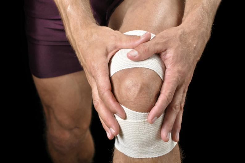 lesion pierna vendada