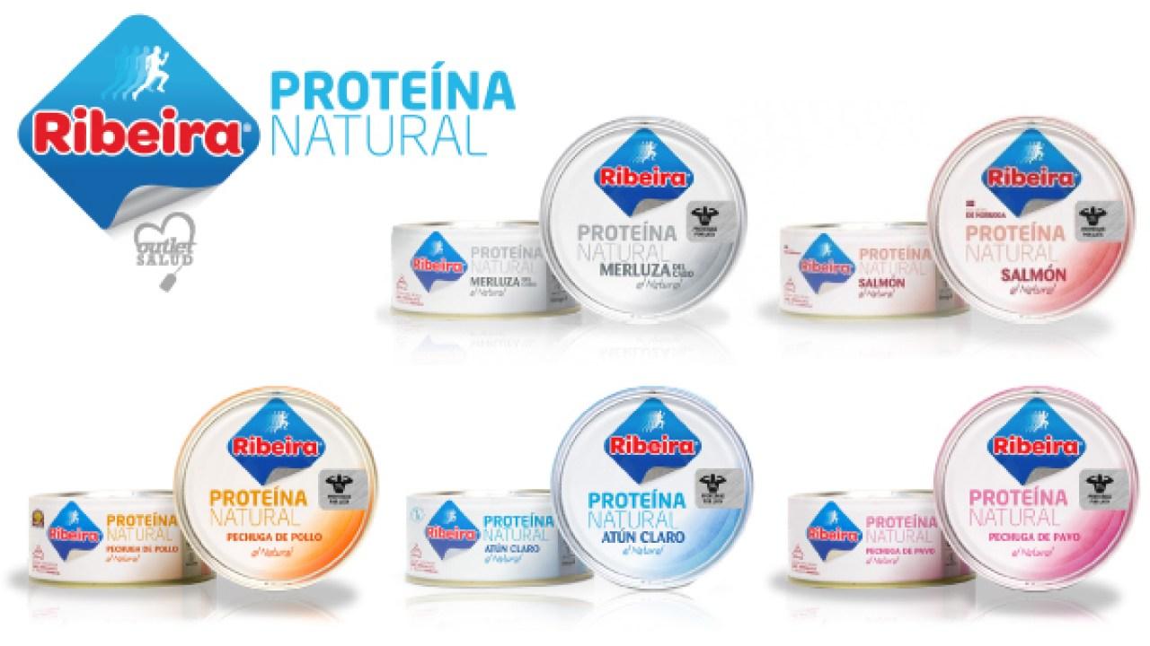 latas de proteína natural frinsa