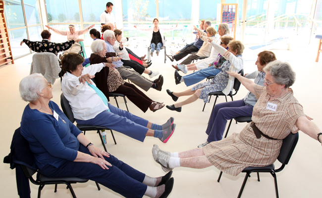 gimnasia alzheimer Termopilas Fitness Gym