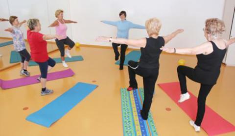 Gimnasia de mantenemento Termopilas Fitness Gym